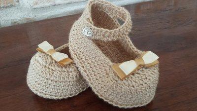 scarpine neonata  modello damina