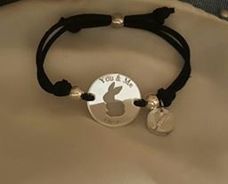 "bracciale "" You & Me"" Rabbit"