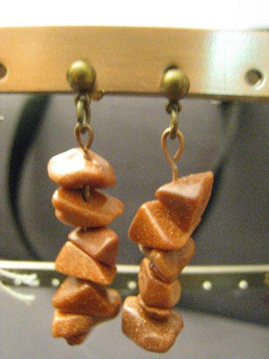 orecchini corniola