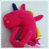 Cuscino arredo Unicorno