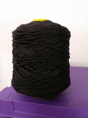 cordino thai effetto seta marrone scuro
