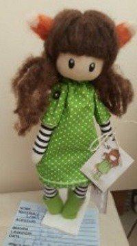 Bambola ispirata alla linea Gorjuss
