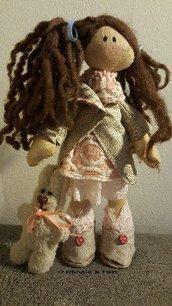 Bambola  stoffa Jenny