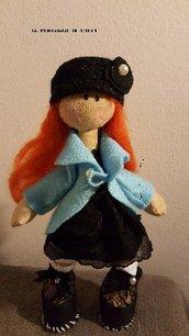 Bambola  stoffa Sarah