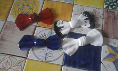 Papillon in ceramica