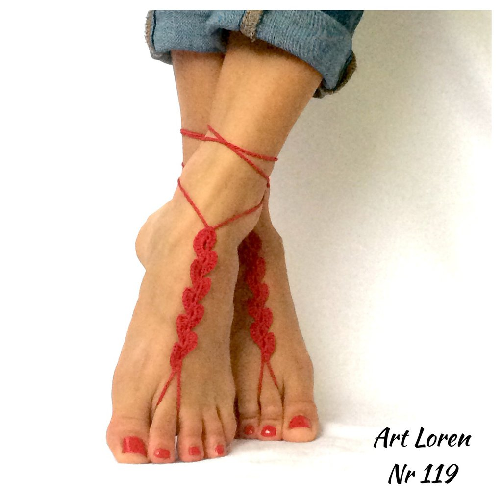 Bracciali per i piedi