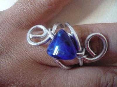 Anello Stone Blue