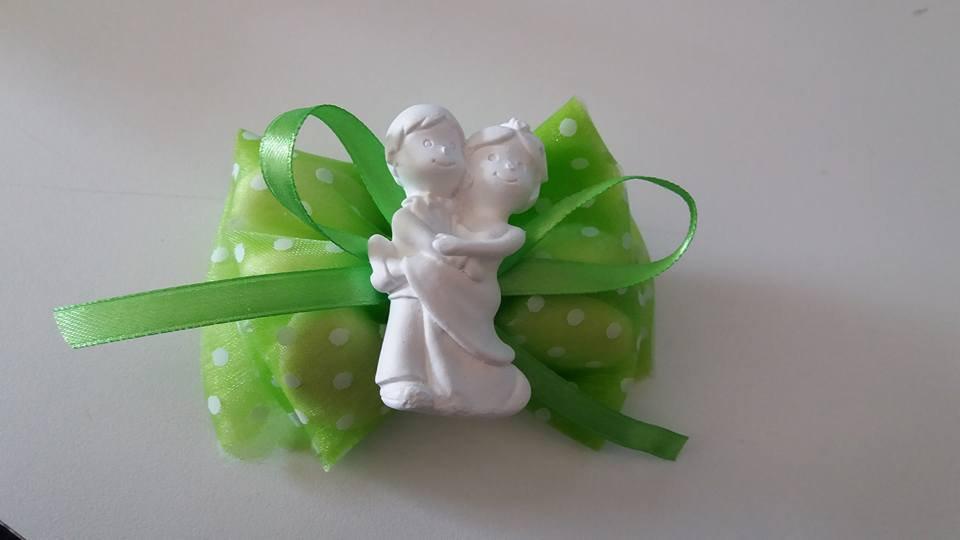 bomboniera promessa matrimonio allegri sposini