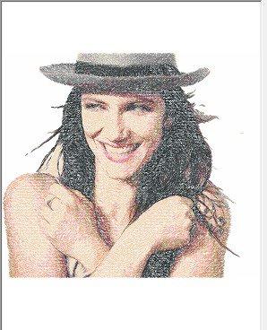 Elisa   foto ricamata