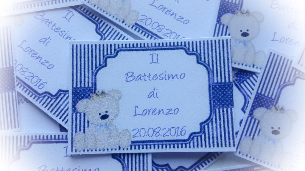 Favori Targhetta battesimo maschietto - Feste - Biglietti e inviti - di  JT81