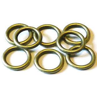 30 Anellini chiusi 8 mm bronzo