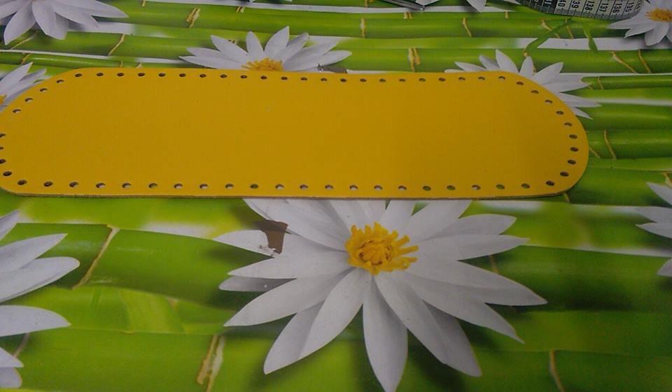 fondo ovale 12x36 giallo