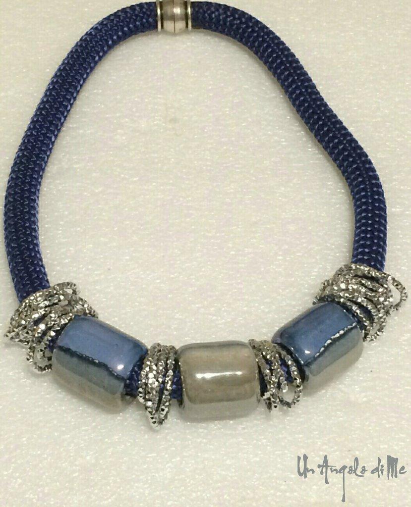 Collana Lio Blu