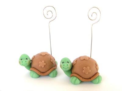 Tartarughina portafoto adatta per bomboniere segnaposto nascita battesimo tartaruga animaletti