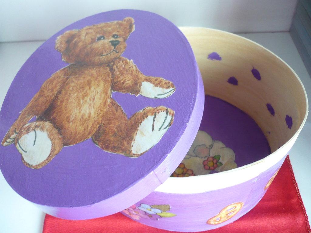 scatola orso