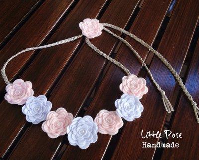 Coroncina di Rose per cerimonie by Little Rose Handmade