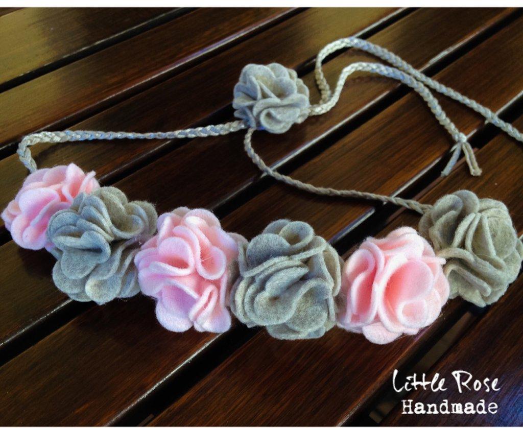 Coroncina per cerimonia / collana by Little Rose Handmade