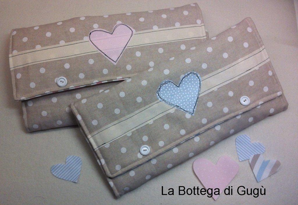 Kit di materiali per Fasciatoio portatile rosa