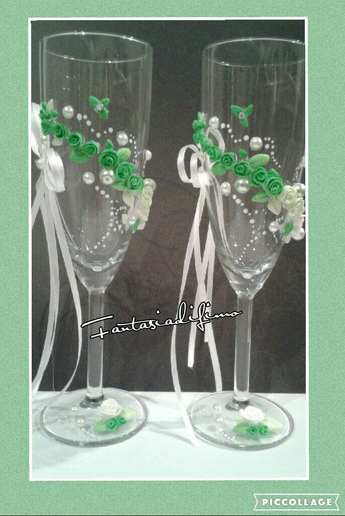 wedding calici flute