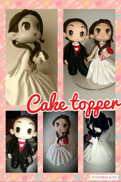 wedding topper cake