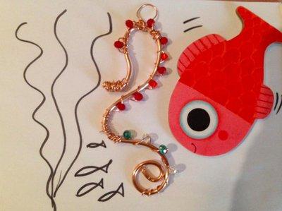 Cavalluccio marino rosso