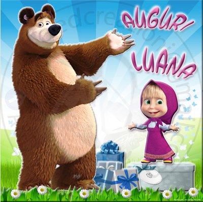 poster masha e orso