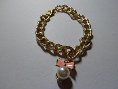 Bracciale con ciondolo perla