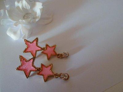 Orecchini pendenti stelle
