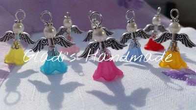 Ciondoli angeli colorati chiudipacco