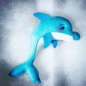 Delfino su calamita