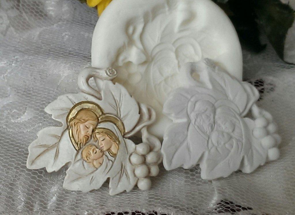 Stampo *Foglia Sacra Famiglia*