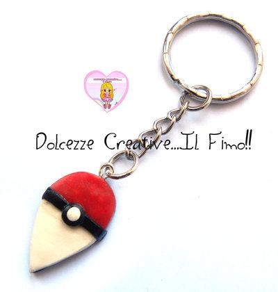 Portachiavi Pokémon Go - HANDMADE - nerd, geek, kawaii fimo
