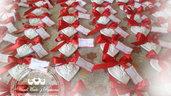 Gessetti cuore , cuoricino,segnaposto, 6,5x6cm bomboniere, nascita,matrimonio, casa,battesimo ,laurea