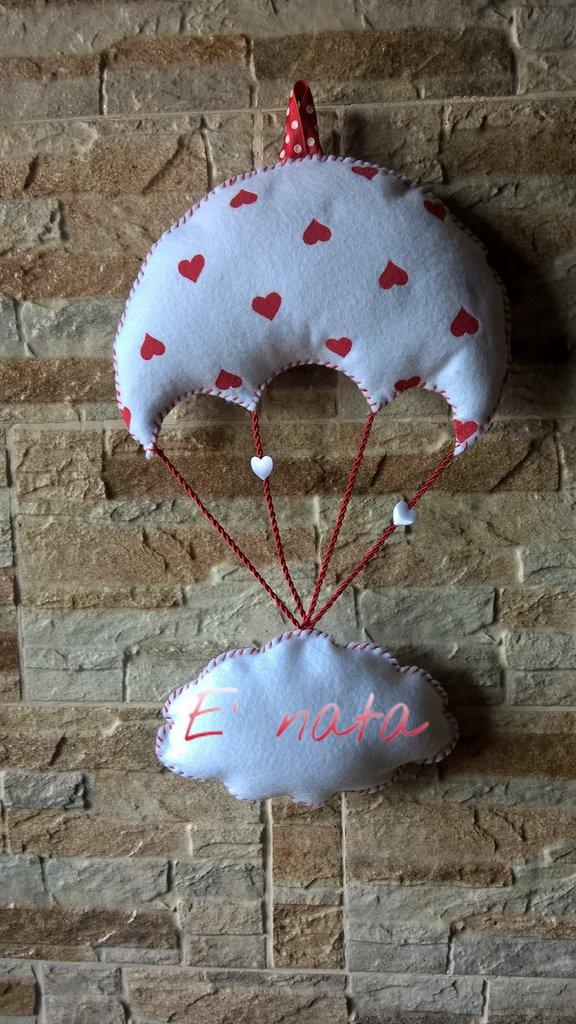 fiocco nascita paracadute