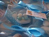 Confetti decorati per confettata nascita - confettata nascita - confettata battesimo - segnaposto nascita - segnaposto battesimo