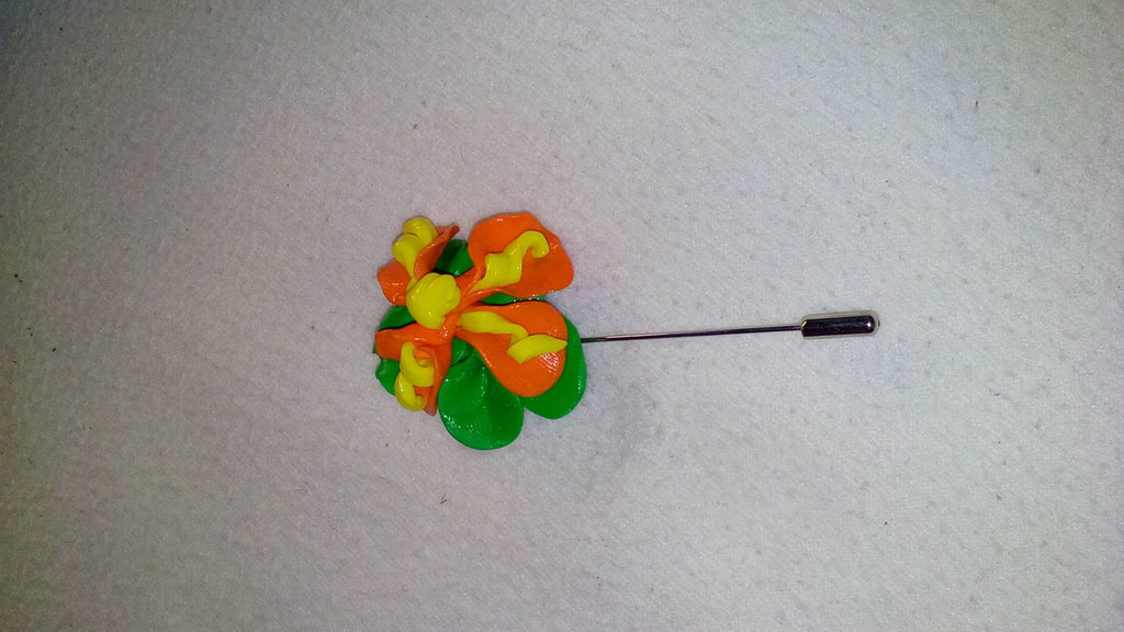 Spillone in fimo