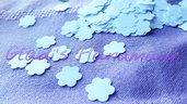 1000 Coriandoli bianchi a forma di fiore (1,5cm×1,5cm)