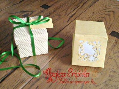 Scatoline regalo scrapbooking
