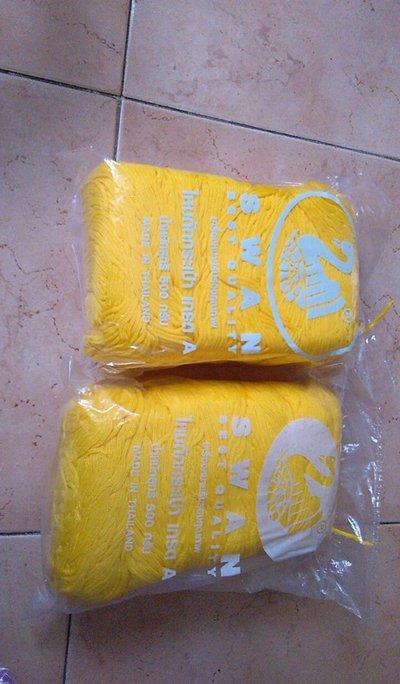 cordino swan made in thailandia giallo