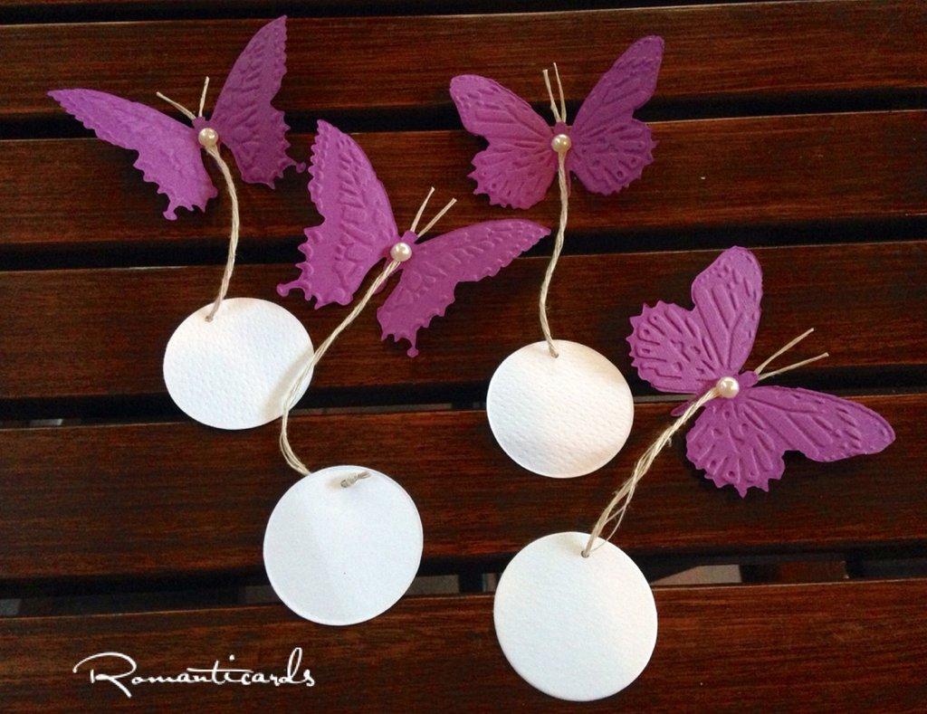 Farfalle a bigliettino by Romanticards