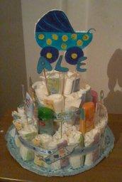 Diaper-Cake Torta di Pannolini