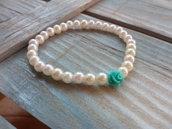Bracciale con perle