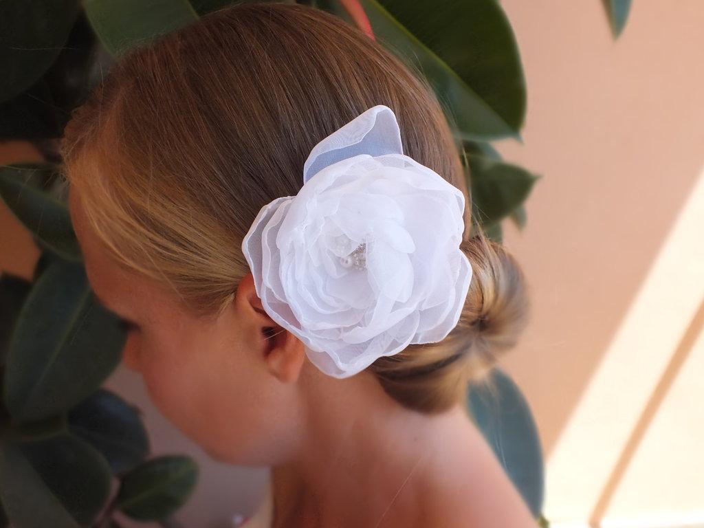"""Fermaglio per capelli """"Rosa"""""""