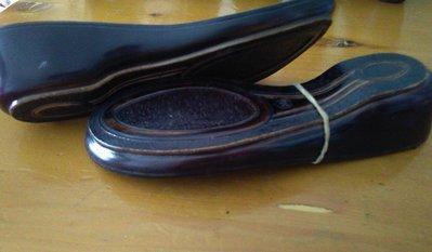suola in legno cod 06 tacco 4,6 n 36 cm23.5