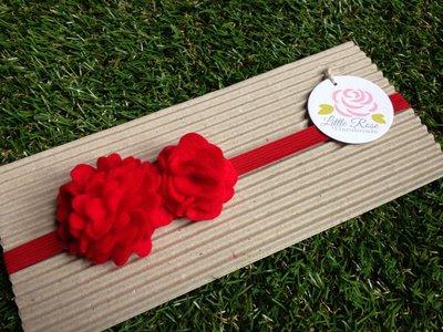 Fascia elastica in tono rosso by Little Rose Handmade