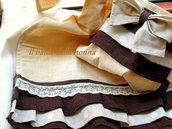 Asciughino in tessuto antico