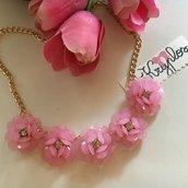 "Collana  ""pastel flower"""