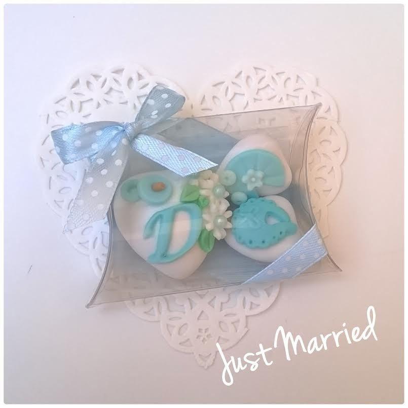 confettata nascita, battesimo per bimbo, confetti decorati