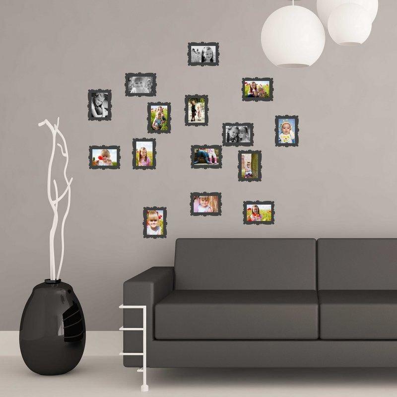 Adesivo per le pareti Cornici per foto 10x15cm (3429n)