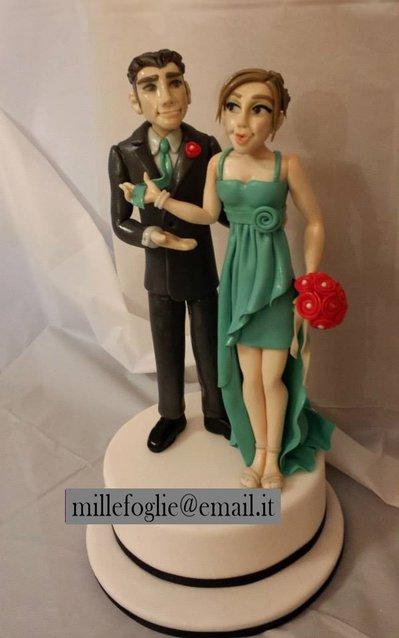 Cake topper Matrimonio / Anniversario